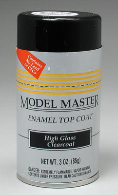 Testors Model Master Spray Clear Top Coat 3 oz TES2936