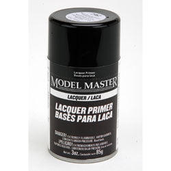 Testors Model Master Spray Super Fine Gray Lacquer Primer TES2982