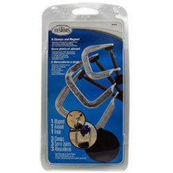 Testors Metal Clamp Set -3 & Magnet TES8945T