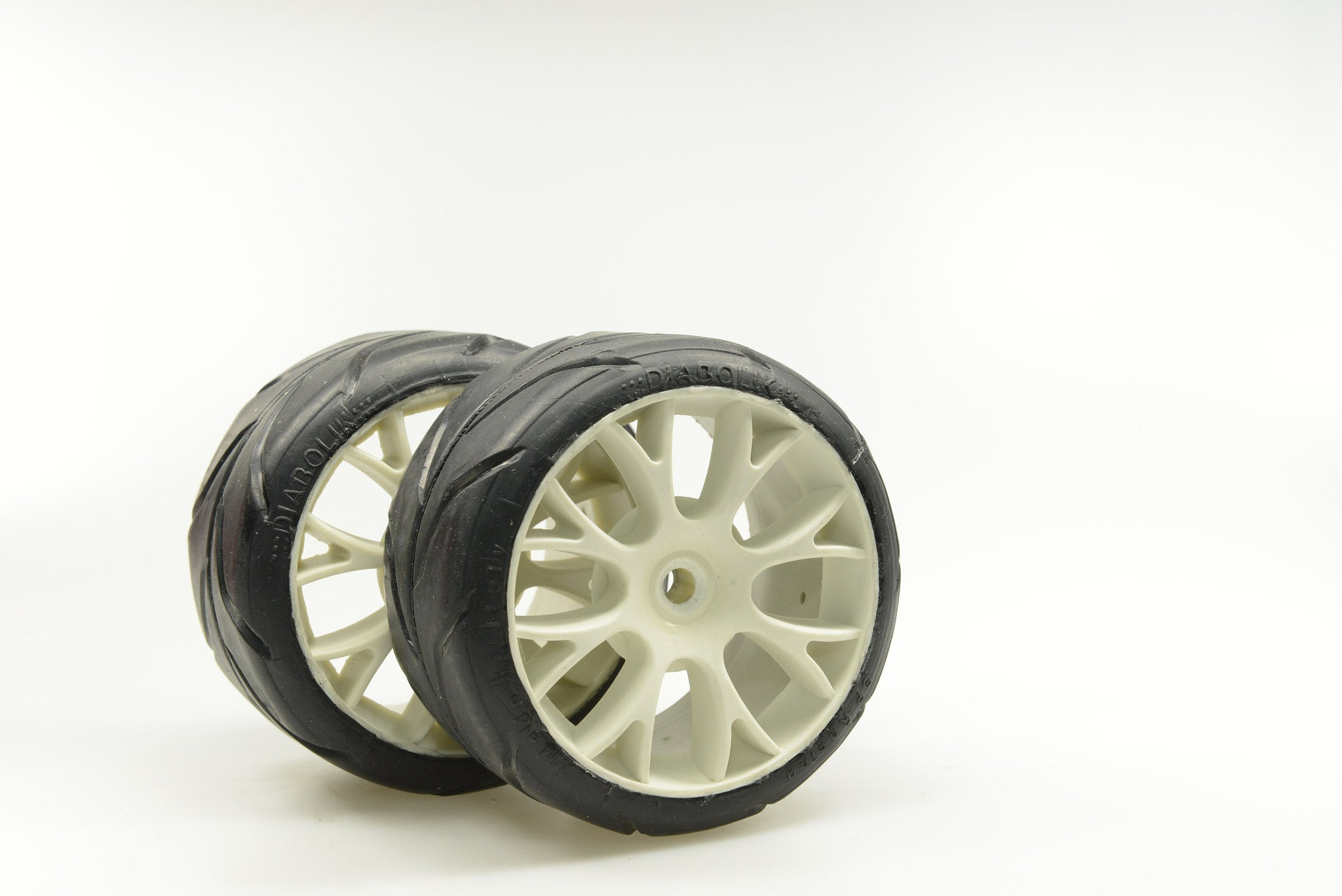 "SP RACING 1/5th ""DIABOLIK""  COMPETITION COMPOUND ""A1"" SOFT indicated for REAR use White RIMS (high Performance). SP07100"