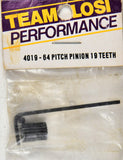 Team Losi 4019 19 Tooth 64 Pitch Pinion LOS4019
