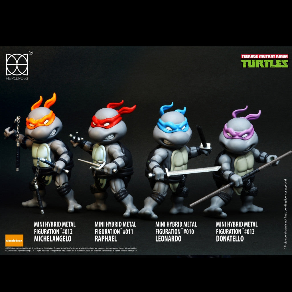 Hero Cross #304 Mini TMNT (SDCC) *LIMITED EDITION* 500 Sets Only HRC78304