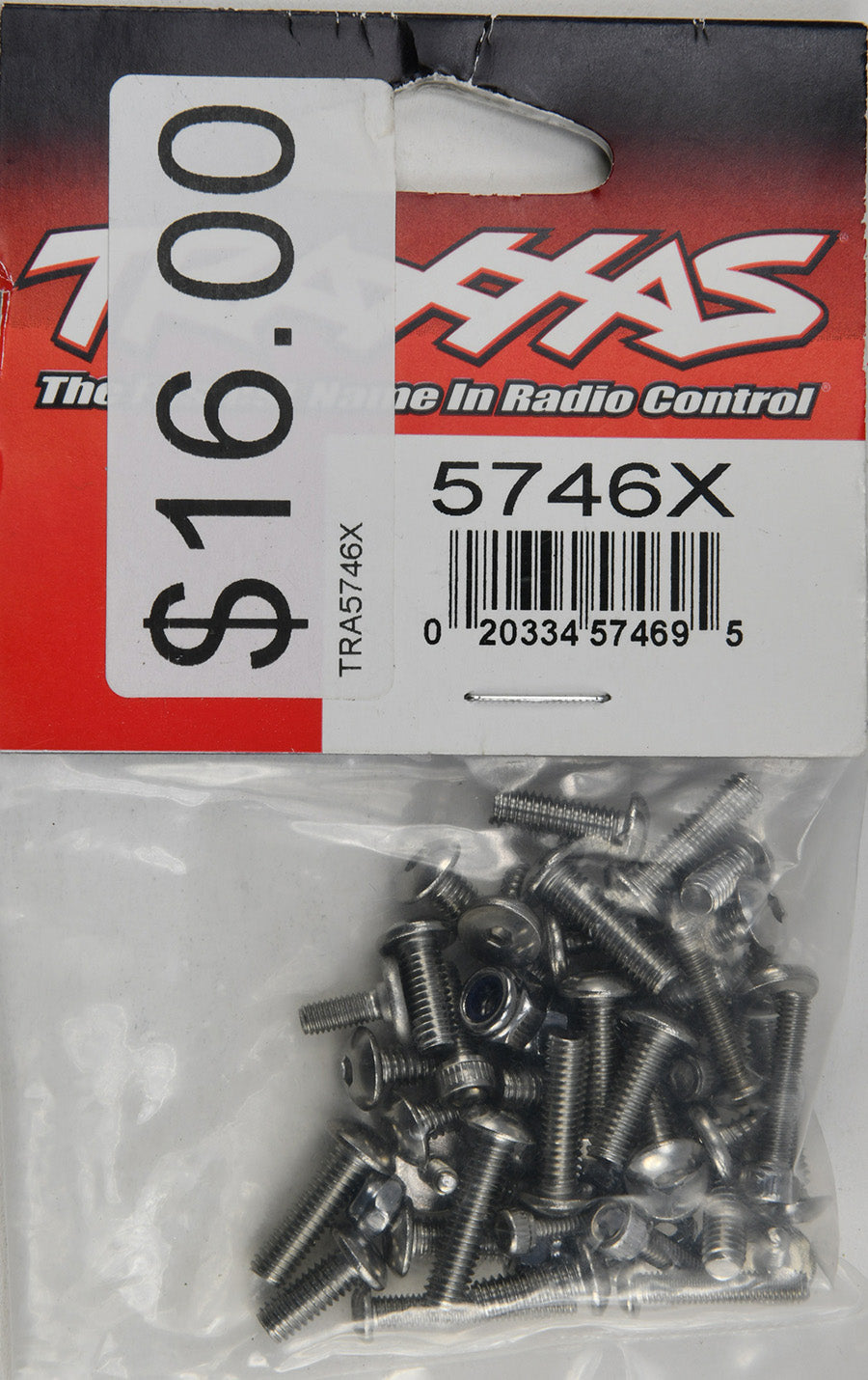 Traxxas Hardware Kit, Stainless Steel, Spartan/DCB M41 (Contains All Stainless Steel Hardware Used on Spartan and DCB M41) TRA5746X