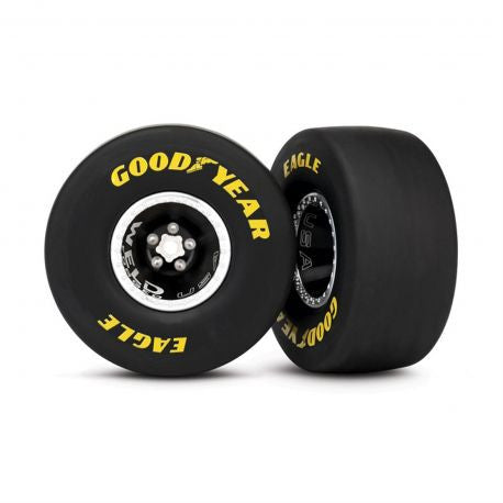 Traxxas Tires/Wheels Alum Weld Wheel Rear TRA6968