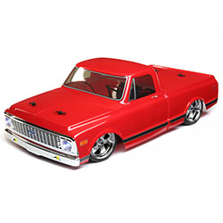 Vaterra 1/10 1972 Chevy C10 Pickup Truck V-100S,RED: 4WD RTR VTR03100T2