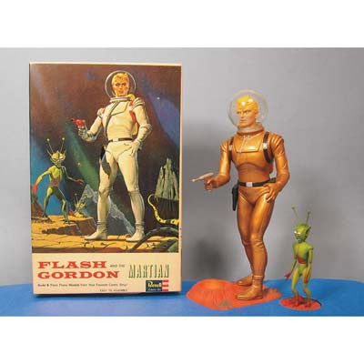 Atlas Model Company 1/8 Flash Gordon Figure 1965 AAN3003