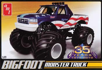 AMT668L/12 1/25 Bigfoot Ford Monster Truck AMT668L/12