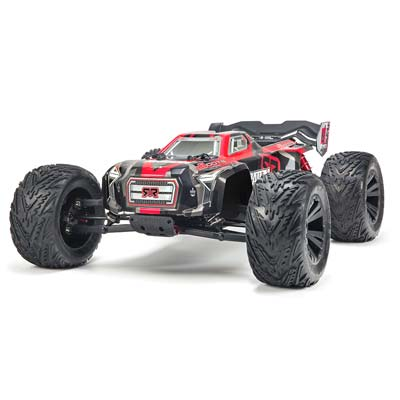 Arrma 2018 1/8 Kraton 6S BXL 4WD Monster RTR Black/Red ARAAR106029