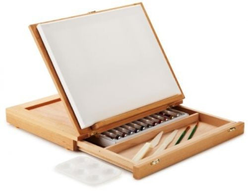 C2f 10x13 Wood Art Sketch Box ARTB265