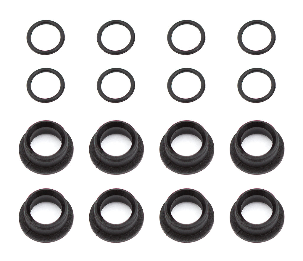Associated RC10F6 Suspension Arm Pivot Ball Bushings ASC4754