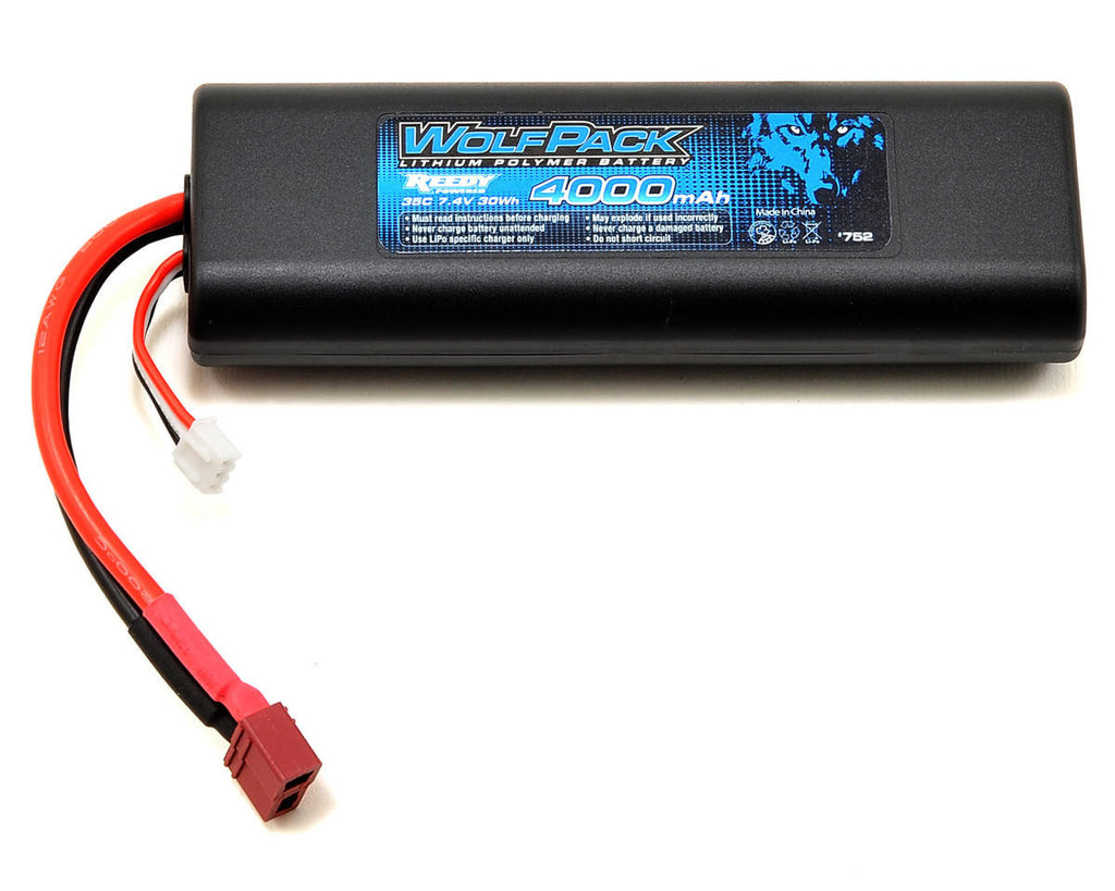 Associated Wolfpack Lipo 2s 7.4v 4000mah 35c ASC752