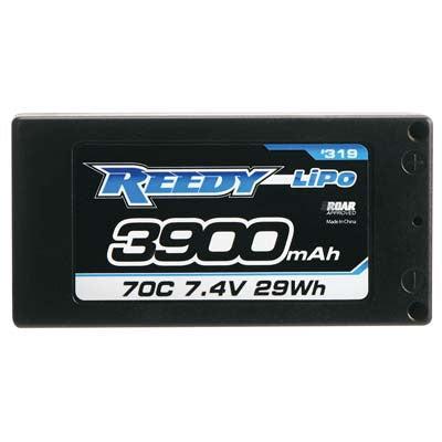 Associated Electronics Reedy LiPo 2S 7.4V 3900mAh 70C LP Shorty ASC319