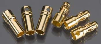 BHP 3.5mm Bullet Connectors (3 Pairs) BHP00210
