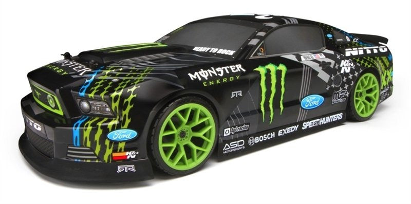 ... HPI E10 2013 Mustang Drift Monster Energy HPI111664