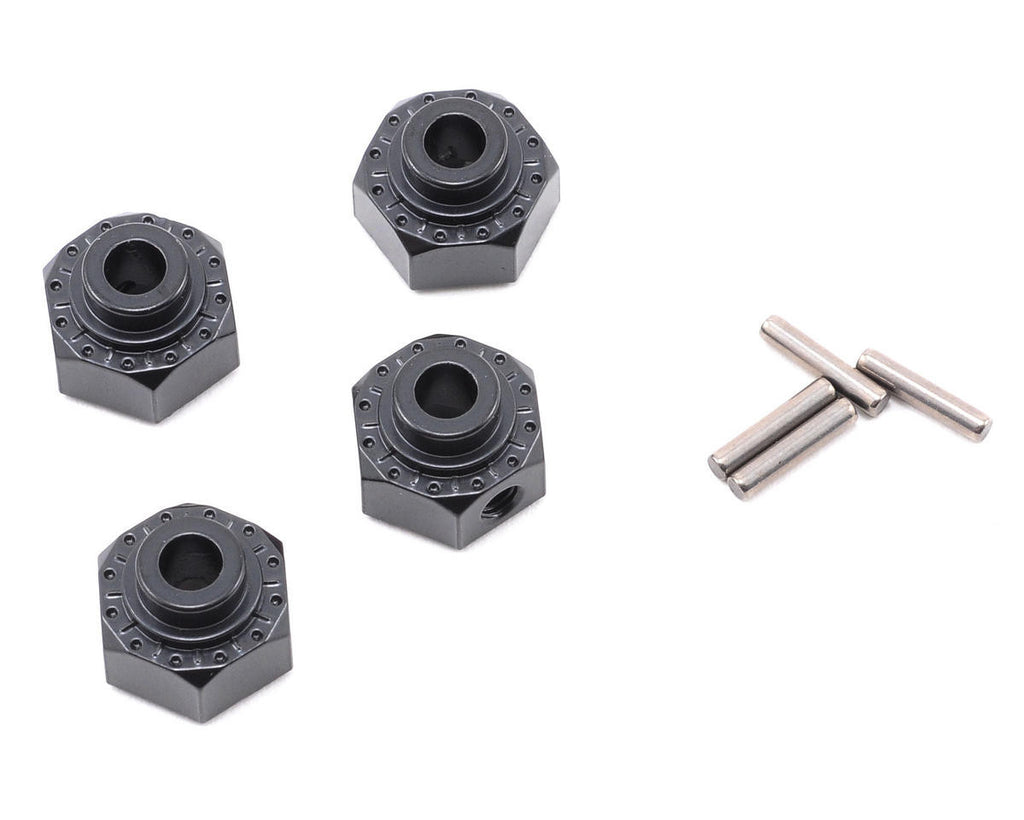 Axial Aluminum Hex Hub 12mm Black AXIAX30429