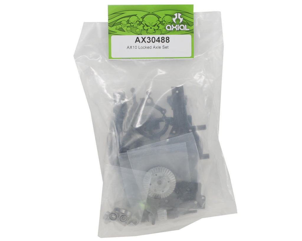 Axial Locked Axle Set Ax10 AXIAX30488