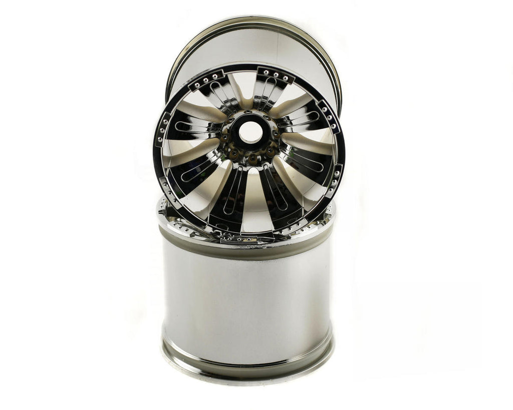 Axial 8-Spoke Wheel Chrome AXIAX8009