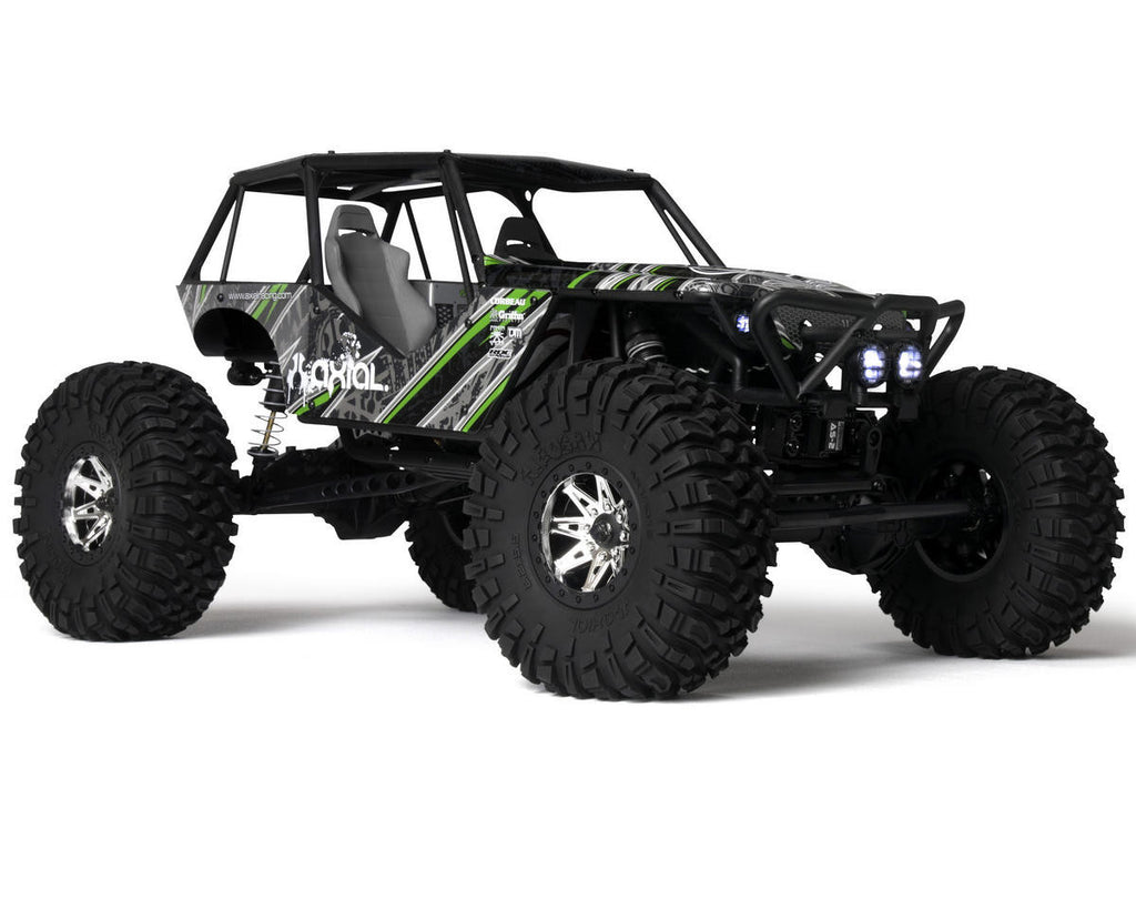Axial 1/10 Wraith 4wd Rock Racer Rtr AXIAX90018