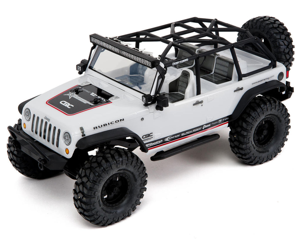 Axial Scx10 '12 Jeep Wrangler Unlmt C/R 4wd Rt AXIAX90035