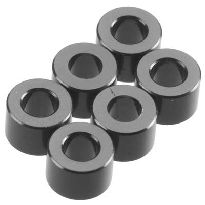 Axial 4x6mm Spacer Grey (6) AXIAXA1416
