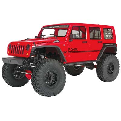 Axial 1/10 SCX10II 2017 Jeep Wrangler 4WD CRC RTR AXIAX90060