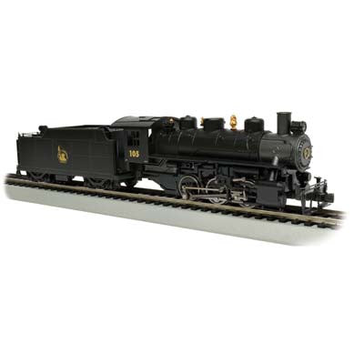 BACHMAN USRA 0-6-0 WITH SMOKE/ TENDER BAC50404