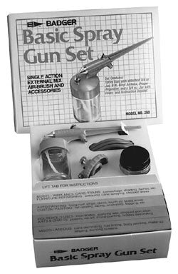 Badger Basic Spray Gun Set BAD250-1