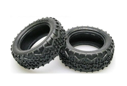 PN Racing Mini-Z Buggy Type Z Front Tire 20 Degree PNRBL1145