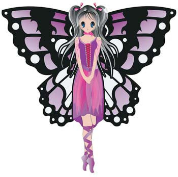 "Brainstorm Products 71102 WNS FantasyFliers 42.5x44"" Nylon 3D Fairy BNS71102"