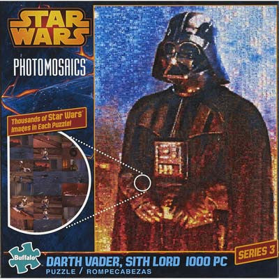 Buffalo Photomosaic Star Wars Darth Vader Sith L BUF10605
