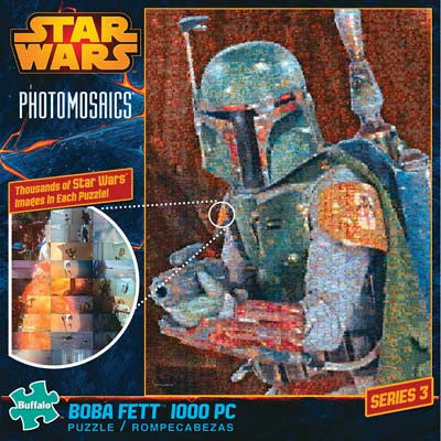 Buffalo Photomosaic Star Wars Boba Fett 1000pcs BUF10613