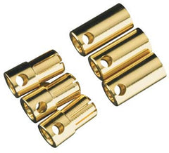 Castle Creations 6.5mm Bullet Connector 13G/8G 200A (3) CSECCBUL6.5X3