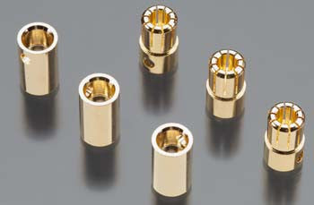 Castle Creations 8mm Female/Male 8.0mm Bullet Connector CSECCBUL8MM
