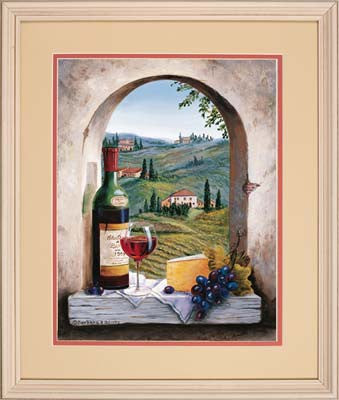 Dimensions Tuscan View PBN DMS73-91441