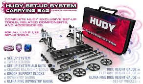 Hudy Complet Set of Set-up Tools + Carrying Bag - For 1/10 Touring Cars HUD108256