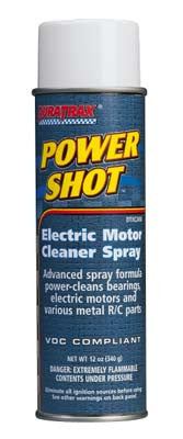 Duratrax Power Shot Motor Spray Cleaner 12oz DTXC2458