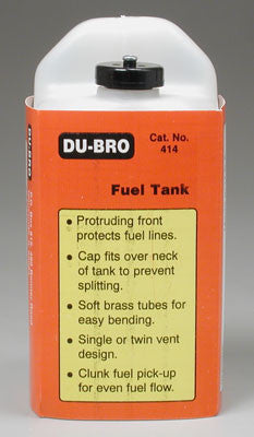 Dubro 14oz Square Fuel Tank DUB414