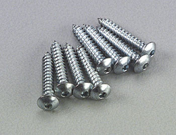 Dubro Button Head Sheet Metal Screws 2x1/2 (8) DUB526