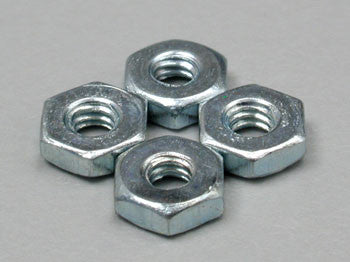 Dubro Steel Hex Nut 2-56 (4) DUB560