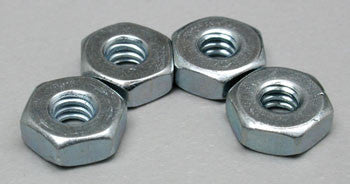 Dubro Steel Hex Nut 4-40 (4) DUB561