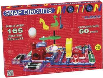 Elenco Electronics SCM-165 Snap Circuits Motion ELESCM-165