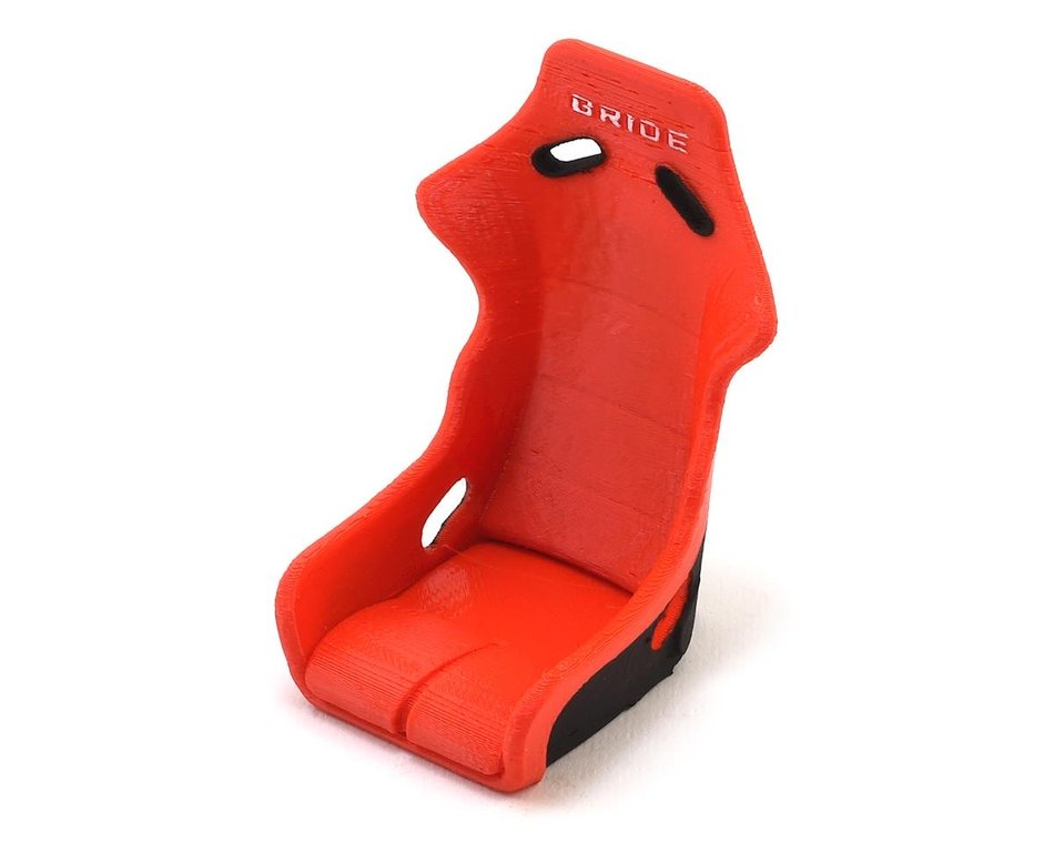 Exclusive RC Bride Vios Lowmax Bucket Seat (Red/Black) EXC-ERC-10-3042-R/B