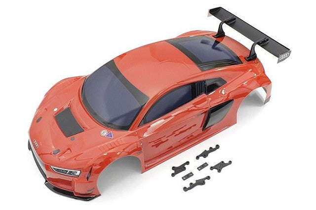 Kyosho AUDI R8 LMS 2015 Red Printed Body Set KYOFAB602R