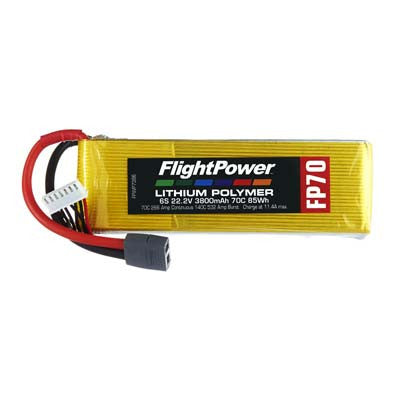 Flight Power 22.2V 3800mAh 70C Star Plug FPWP7386