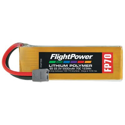 Flight Power 22.2V 5500mAh 70C Star Plug FPWP7556