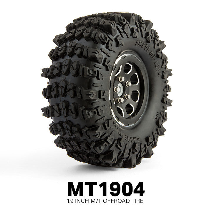 "MT1904 1.9"" Off-Road Tires for Crawlers and Scale Rigs (1 pair) GMA70304"