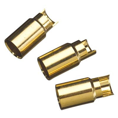 Great Planes 6mm Gold Bullet Conn Female GPMM3117
