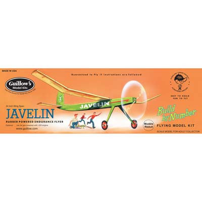 Guillows Javelin Build By Number Model GUI603