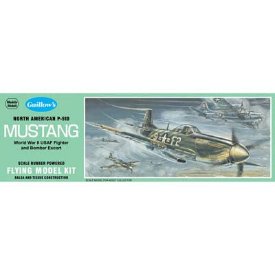 Guillows P-51 Mustang Kit GUI905