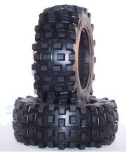 Daves Motors MXT Front Knobby Tire Baja Hard DDMHH991